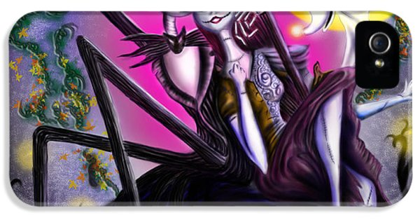 Sweet Loving Dreams In Halloween Night IPhone 5 Case by Alessandro Della Pietra