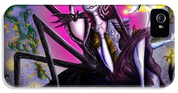 Sweet Loving Dreams In Halloween Night IPhone 5 / 5s Case by Alessandro Della Pietra