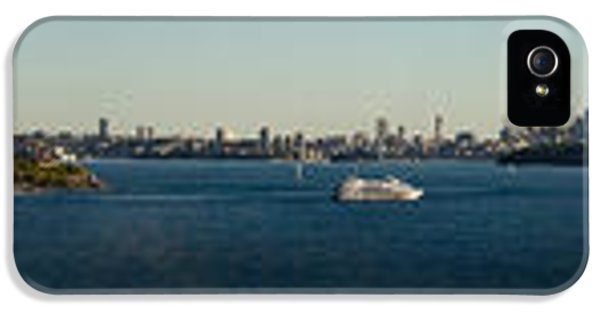 IPhone 5 Case featuring the photograph Sydney Panorama by Miroslava Jurcik