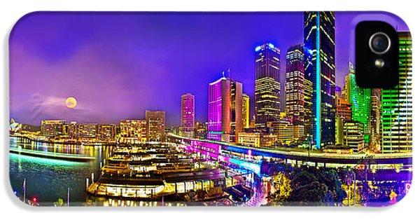 Sydney Vivid Festival IPhone 5 Case by Az Jackson