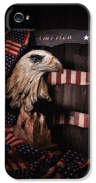 Symbol Of America Still Life IPhone 5 Case by Tom Mc Nemar
