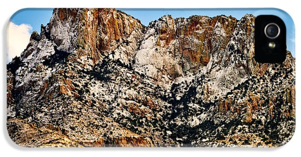 IPhone 5 Case featuring the photograph Table Mountain In Winter 42 by Mark Myhaver