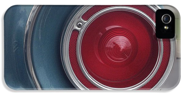 Tail Light Ford Falcon 1961 IPhone 5 / 5s Case by Don Spenner