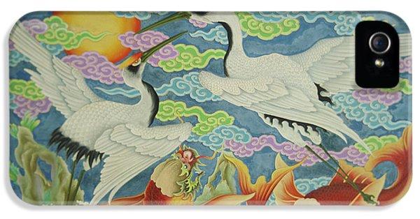 Taiwan, Peimen, Nankunshen Temple IPhone 5 / 5s Case by Jaynes Gallery