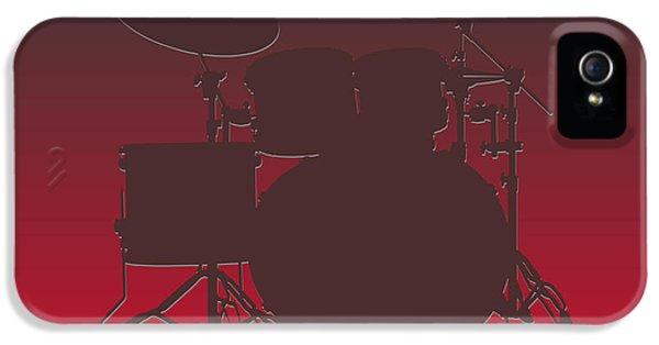 Tampa Bay Buccaneers Drum Set IPhone 5 Case by Joe Hamilton