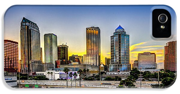 Tampa Skyline IPhone 5 Case by Marvin Spates