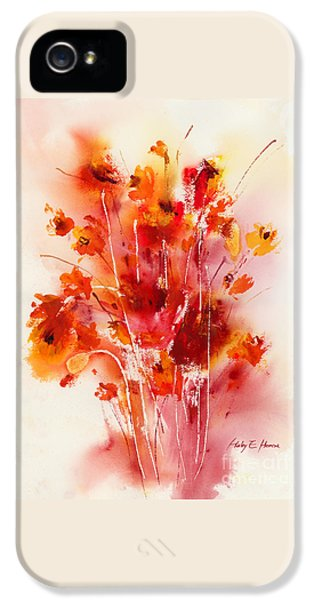 Tangerine Tango IPhone 5 Case by Hailey E Herrera