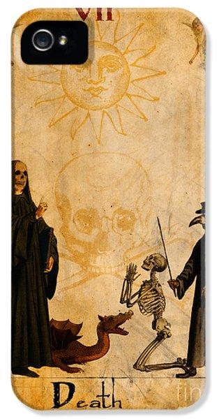 Tarot Card Death IPhone 5 Case