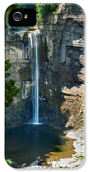 Taughannock Falls IPhone 5 Case by Christina Rollo