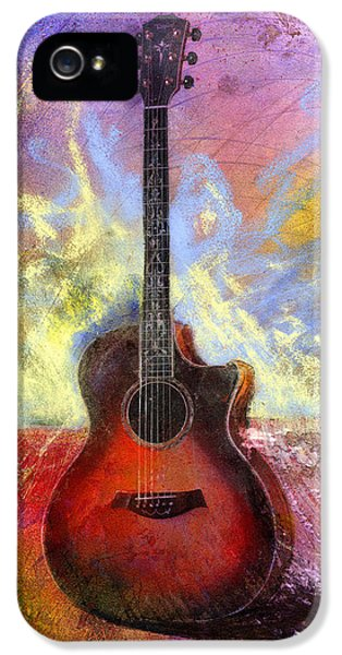 Guitar iPhone 5 Case - Taylor by Andrew King