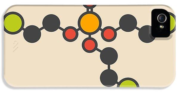 Toxicity iPhone 5 Case - Tcep Molecule by Molekuul