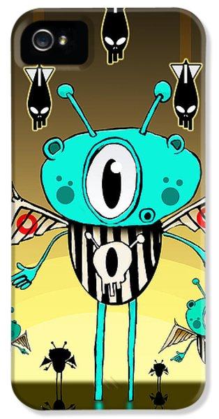 Team Alien IPhone 5 Case by Johan Lilja