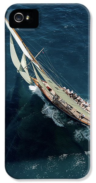 French iPhone 5 Case - Team In Race by Marc Pelissier