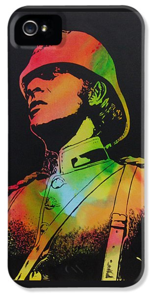 Technicolour Michael Caine IPhone 5 Case by Gary Hogben