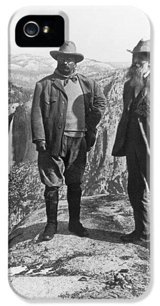Teddy Roosevelt And John Muir IPhone 5 Case