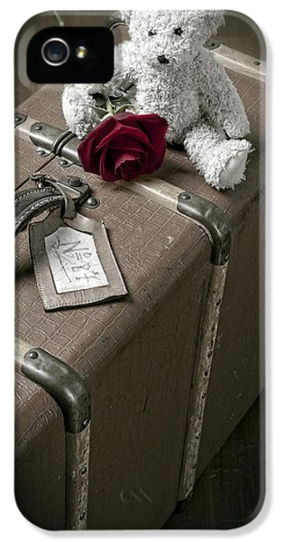 Teddy Wants To Travel IPhone 5 Case