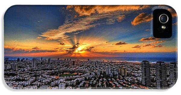 Tel Aviv Sunset Time IPhone 5 Case