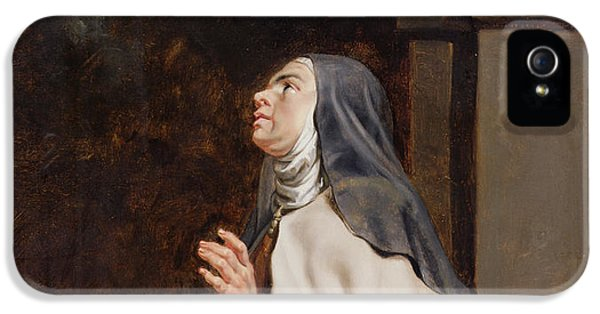 Teresa Of Avilas Vision Of A Dove IPhone 5 Case by Peter Paul Rubens