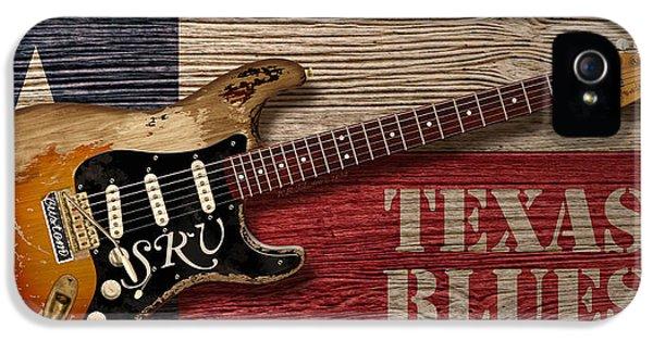 Austin iPhone 5 Case - Texas Blues by WB Johnston