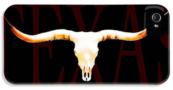 Texas Longhorns By Sharon Cummings IPhone 5 Case by Sharon Cummings