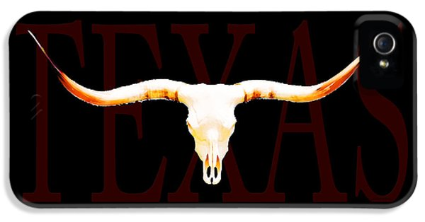Texas Longhorns By Sharon Cummings IPhone 5 Case