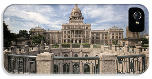 Texas State Capitol Iv IPhone 5 Case by Joan Carroll