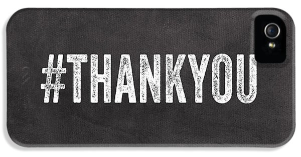 Thank You- Greeting Card IPhone 5 Case