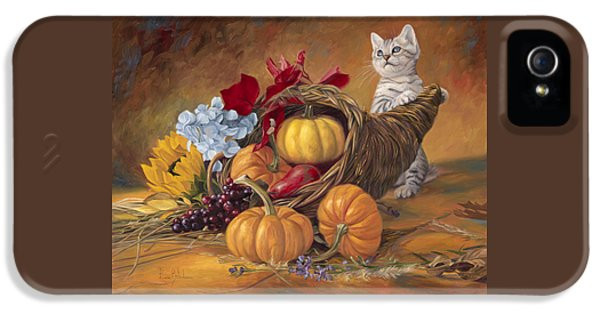 Thankful IPhone 5 Case by Lucie Bilodeau