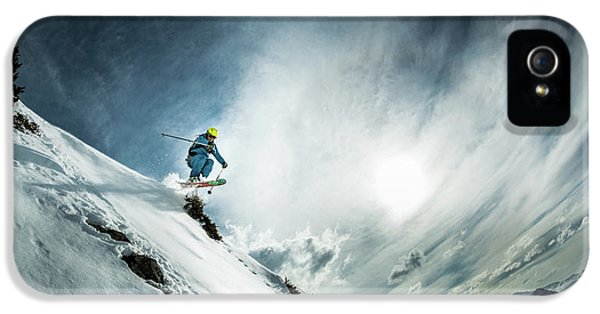 French iPhone 5 Case - Tha??o De La Soujeole At Home In Flaine by Eric Verbiest