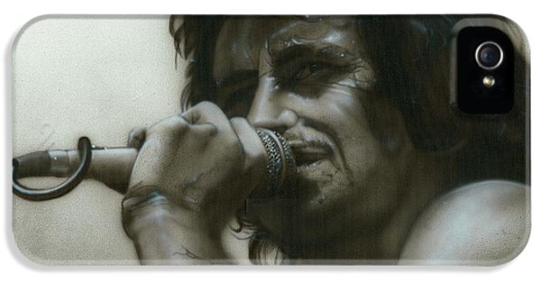 Bon Scott - ' That's How It Goes Playing In A Band ' IPhone 5 Case
