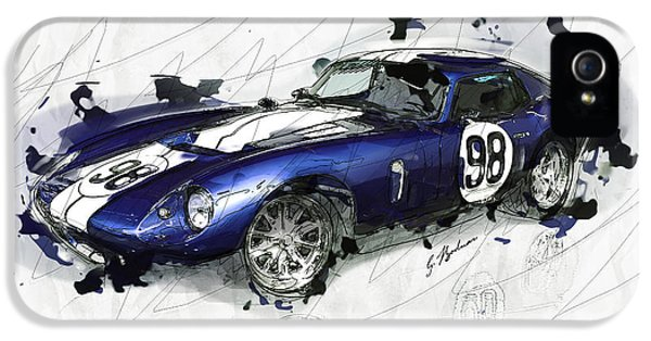 The 1965 Ford Cobra Mustang IPhone 5 / 5s Case by Gary Bodnar
