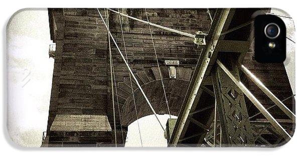 Ohio iPhone 5 Case - The 1st brooklyn Bridge by Natasha Marco