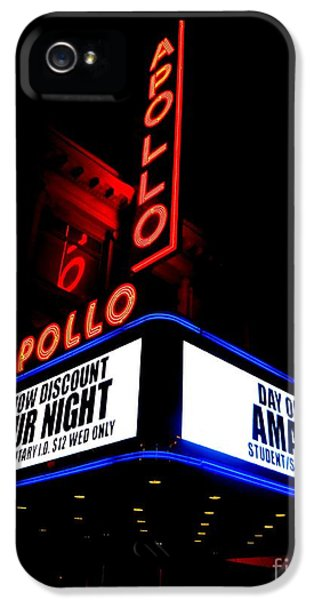 The Apollo Theater IPhone 5 Case by Ed Weidman