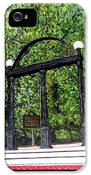 The Arch At Uga IPhone 5 Case