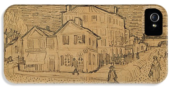The Artists House In Arles IPhone 5 Case
