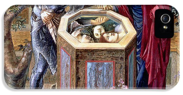 The Baleful Head, C.1876 IPhone 5 Case by Sir Edward Coley Burne-Jones