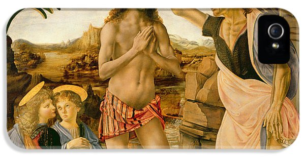 The Baptism Of Christ By John The Baptist IPhone 5 Case