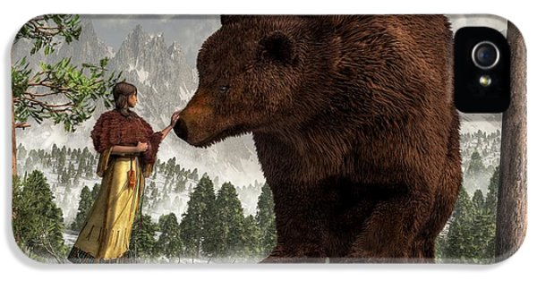 The Bear Woman IPhone 5 Case