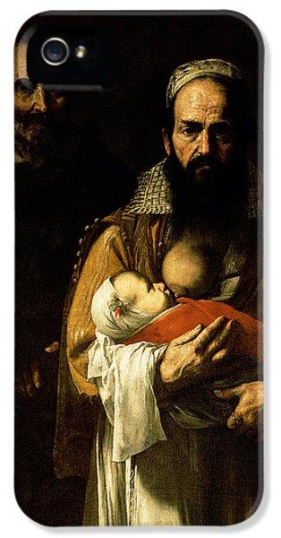 The Bearded Woman Breastfeeding, 1631 IPhone 5 Case