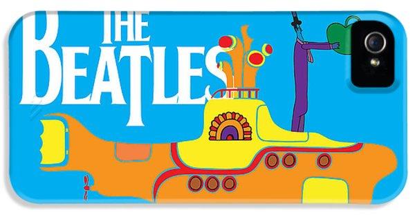 Music iPhone 5 Case - The Beatles No.11 by Geek N Rock