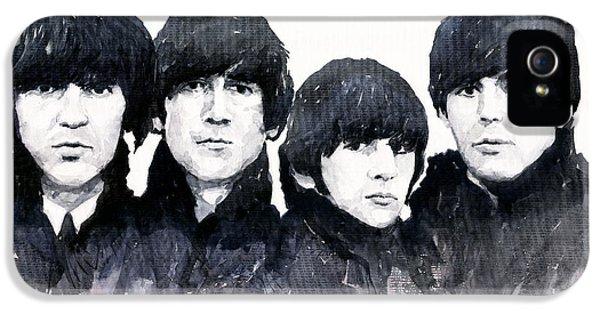 Musician iPhone 5 Case - The Beatles by Yuriy Shevchuk