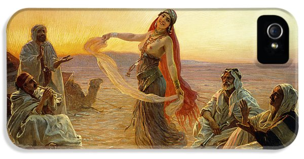 The Bedouin Dancer IPhone 5 Case by Otto Pilny
