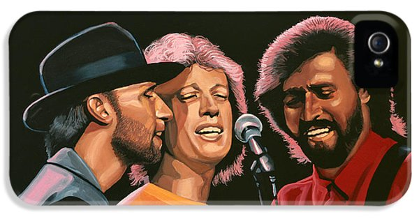 The Bee Gees IPhone 5 / 5s Case by Paul Meijering