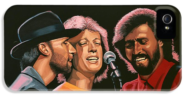 Rhythm And Blues iPhone 5 Case - The Bee Gees by Paul Meijering