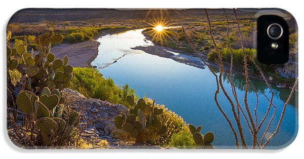 The Big Bend IPhone 5 Case
