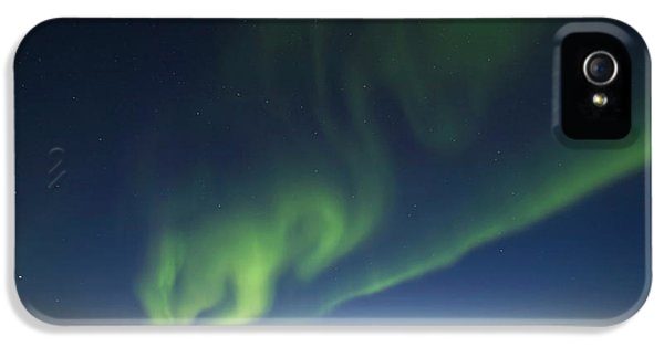 The Big Dipper Hangs Over Curtains IPhone 5 Case by Hugh Rose