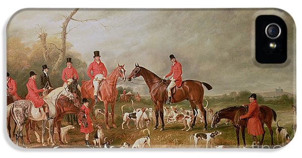 The Birton Hunt IPhone 5 Case