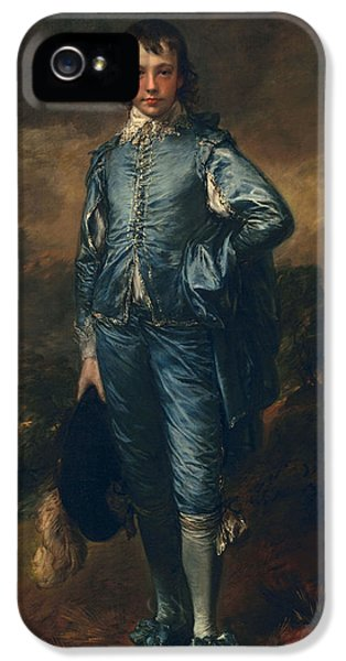 The Blue Boy, C.1770 IPhone 5 Case by Thomas Gainsborough