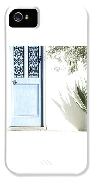 iPhone 5 Case - The Blue Door by Holly Kempe