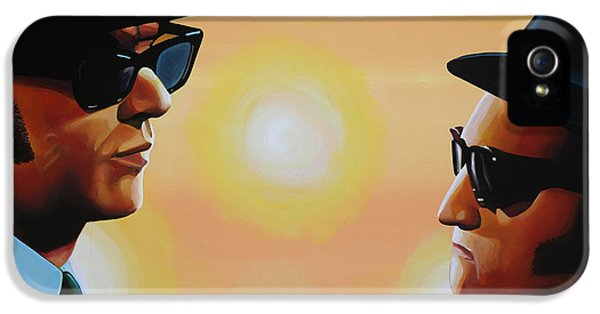 The Blues Brothers IPhone 5 Case by Paul Meijering